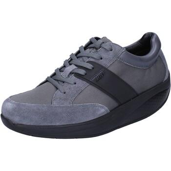 Chaussures Femme Baskets basses Mbt chaussures femme  sneakers gris textile daim performance BT41 gris