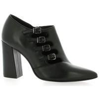 Chaussures Femme Boots Bruno Premi Boots cuir Noir