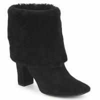 Chaussures Femme Bottines Rockport HELENA CUFFED BOOTIE NOIR