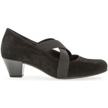 Chaussures Femme Escarpins Gabor Trotteurs Noir